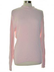 Karen Scott Women Size Large L Pink Pullover Sweater