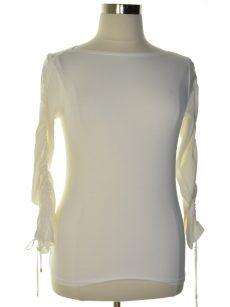 Lauren Ralph Lauren Women Size Large L White Pullover Top