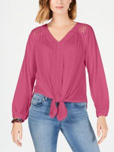 Style & Co. Petites Size PXL Pink Pullover Top