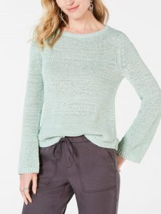 Style & Co. Women Size Large L Mint Pullover Sweater
