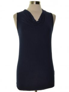 INC Women Size Small S Navy Tank Top