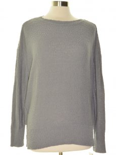 Style & Co. Women Size Medium M Gray Pullover Sweater