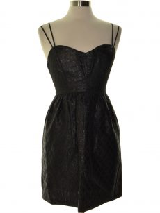 BCBGeneration Women Size 4 Black Evening Dress