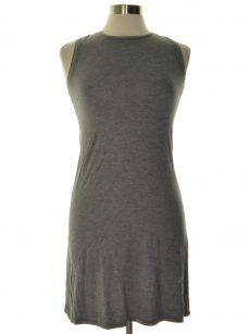 Style & Co. Petites Size PS Gray Blouson Dress