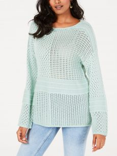 Style & Co. Women Size XS Mint Pullover Sweater