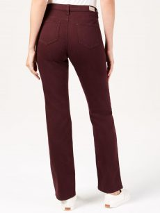 Lee Platinum Label Petites Size 16P Wine Straight-Leg Pants