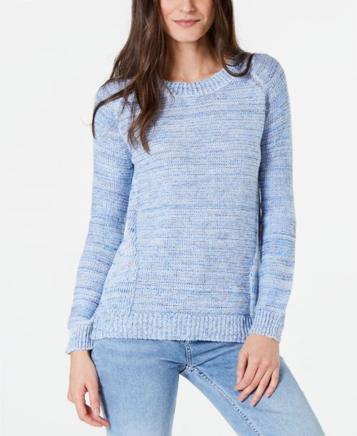 NY Collection Petites Size PXL Blue Pullover Sweater