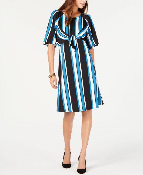 NY Collection Petites Size PM Multi Shift Dress