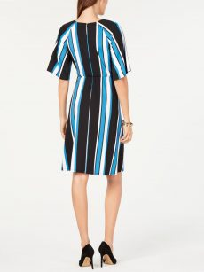 NY Collection Petites Size PM Multi Shift Dress