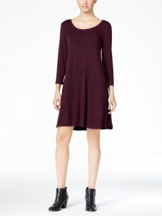 Style & Co. Petites Size PP Berry Shift Dress