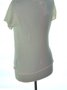 Maison Jules Women Size Small S Ivory Knit Top