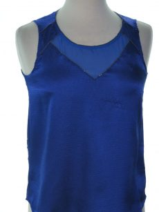 XOXO Juniors Size Small S Blue Tank Top