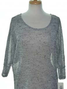 Alfani Women Size XS Grey Pullover Sweater