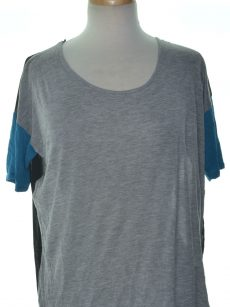 Kensie Women Size Medium M Grey Pullover Top
