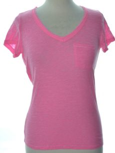 Maison Jules Women Size XS Pink Basic T-Shirt Top