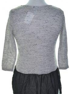 Bar III Women Size XS Gray Knit Top