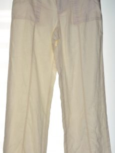 INC Women Size 8 Ivory Casual Pants