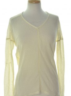 Bar III Women Size XS Ivory Sweatshirt Sweater