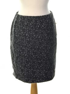 Studio M Women Size Medium M Gray Pencil Skirt