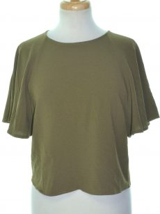 Bar III Women Size Small S Olive Green Pullover Top