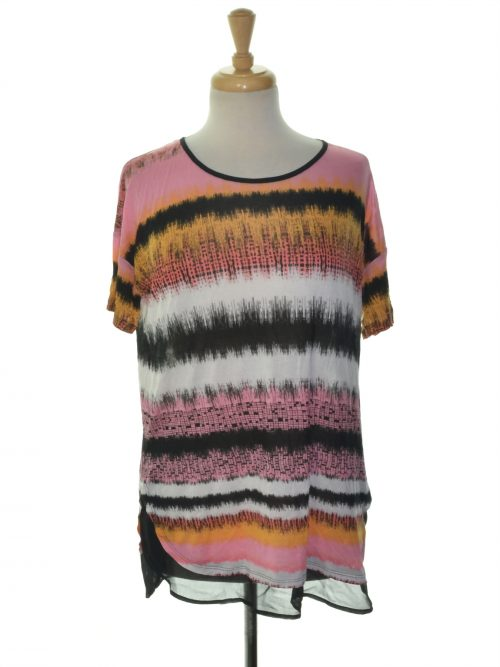 Kensie Women Size XS Multi Pullover Top