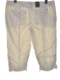 INC Women Size 8 Beige Cropped Pants