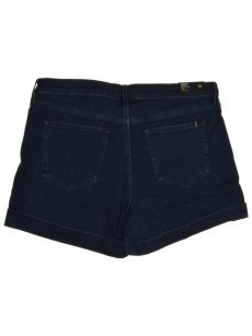Buffalo Jeans Women Size 32 Dark Blue Denim Shorts Pants