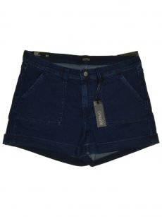 Buffalo Jeans Women Size 31 Dark Blue Denim Shorts Pants
