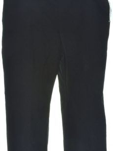 INC Women Size 6 Black Cropped Pants