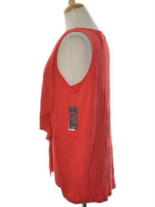 Kensie Women Size Medium M Red Tank Top
