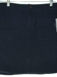 Maison Jules Women Size 4 Blue Denim Skirt