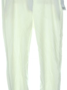 Bar III Women Size 14 Washed White Culottes Pants
