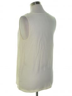 Kensie Women Size Small S Ivory Tank Top