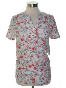 Kensie Women Size XS Gray Blouse Top