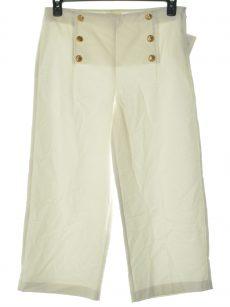 Maison Jules Women Size 8 White Culottes Pants