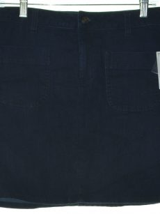 Maison Jules Women Size 8 Blue Denim Skirt