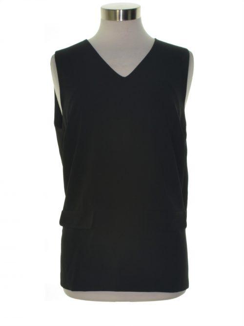 Alfani Women Size 8 Black Blouse Top