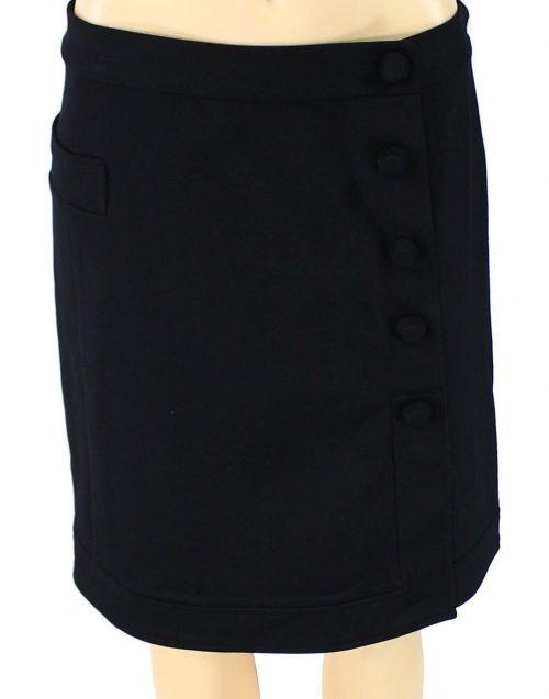 Alfani Women Size 10 Black A-Line Skirt