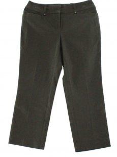 Alfani Women Size 18 Dark Grey Capris Cropped Pants