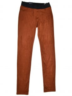 INC Women Size 4 Brown Orange Legging