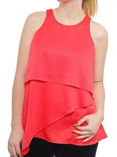 Alfani Women Size 12 Coral Blouse Top