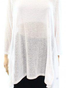 Alfani Women Size Medium M White Pullover Sweater