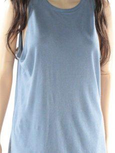 Ralph Lauren Women Size Medium M Washed Blue Tank Top