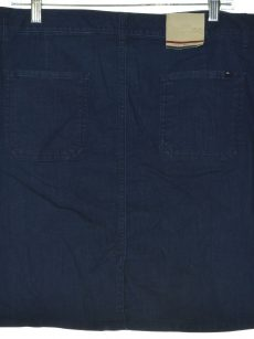 Tommy Hilfiger Women Size 4 Blue Denim Skirt