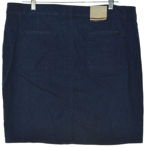 Tommy Hilfiger Women Size 4 Blue Denim Skirt