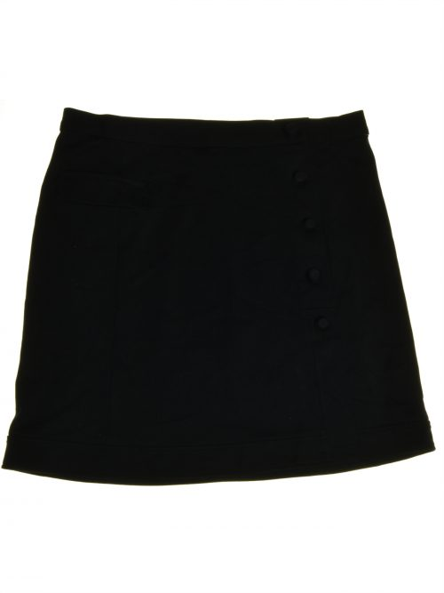 Alfani Women Size 10 Black A-Line Skirt