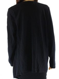 INC Women Size Small S Black Wrap Sweater