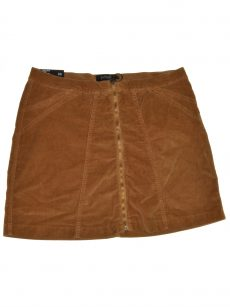 Buffalo Jeans Women Size 32 Brown Mini Skirt