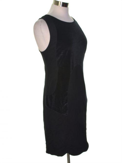 Kensie Women Size Large L Black Sheath Dress