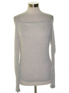 Chelsea Sky Women Size XL Gray Casual Top